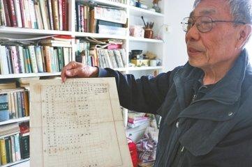开封77岁的退休老人  收藏历史文证资料