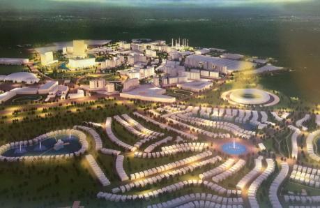 访大马东方城实业董事长拿督李卫博士:东方生态城——一座有生命力的生态之城