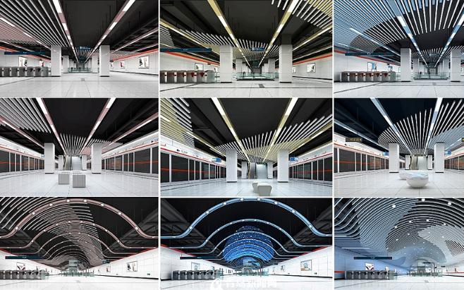 探访青岛地铁2号线特色车站  色彩、设计处处彰显青岛风采