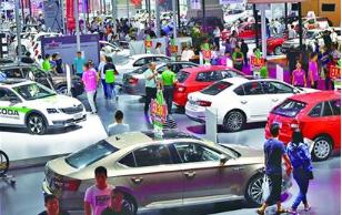 2017第十六届青岛秋季国际车展两天成交3100辆新车 销售额突破两个亿