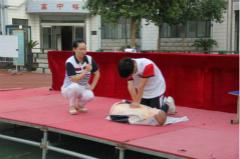 青岛安监预加强对师生救护培训