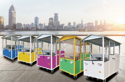 欢迎选购大地车业电动餐车 走上创业致富新道路