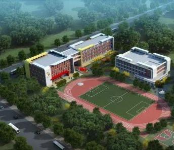 首家被动式建筑学校收尾施工 设24个小学班12个幼儿园班