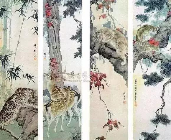"""无师自通的""""全能画家""""刘奎龄是动物画一代宗师"""
