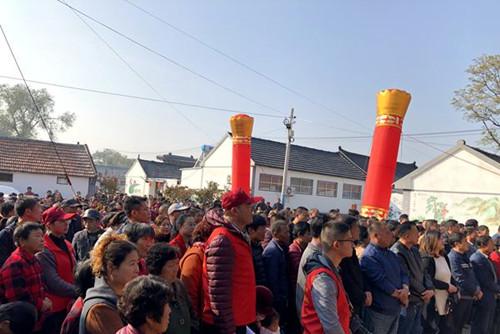 平度古岘镇举行首届旅游文化节开幕式暨微电影《故国情思》开机仪式