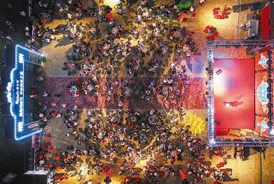 """青岛国际啤酒节:""""打卡""""青岛夜生活的第一站"""