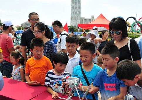 青岛市全国科普日暨青岛海洋科普联盟系列活动正式开幕 将举办161场活动