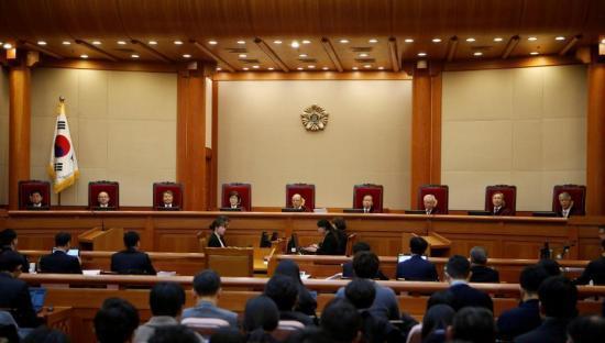 韩国总统弹劾案24日将迎来终审 特检组希望延长调查时间