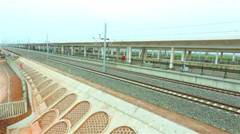 济青高铁胶州北站圆满完成箱梁架施工