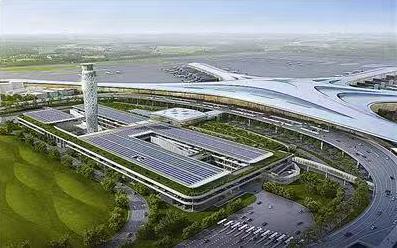 青岛胶东机场塔台工程主体结构顺利封顶 设计理念体现青岛海洋特色城市文化
