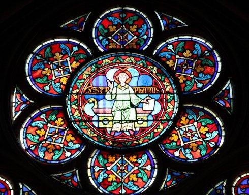 轩泽设计:曾经的美 巴黎圣母院的窗花设计