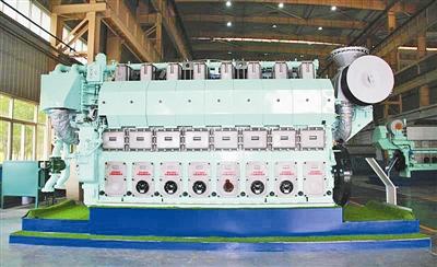 国内首款大功率双燃料发动机平度下线 具有自主知识产权