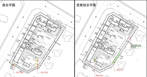 青岛市规划局发布地块规划变更公示:萍乡路52号地块调整部分车位位置