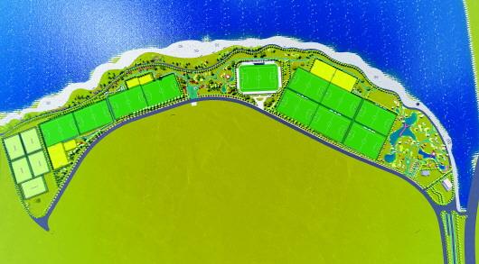 青岛白沙湾足球基地举办启用仪式 将举办哥德杯世界青少年足球赛