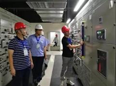 红岛-胶南城际轨道交通二期供电(子)单位工程验收顺利通过
