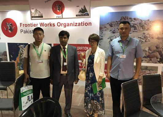 智领蓝天实业有限公司应邀参加2017第十届巴基斯坦博览会 致力开拓国际市场