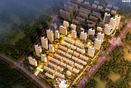 青岛市规划局发布青特地铁·花屿城项目规划及建筑方案批前公示