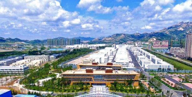 青岛西海岸新区崛起座座现代化新城区 十大功能区成为发展建设的主战场