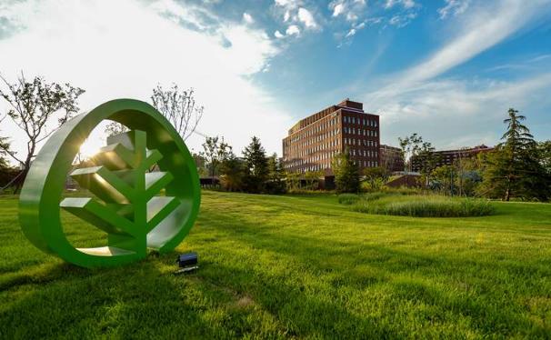 """中国唯一!青岛中德生态园荣获""""2018可持续城市和人居环境奖——全球绿色城区奖"""""""