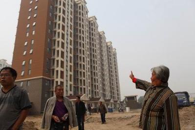 李沧区刘家下河安置房竣工收尾 332户居民有望回迁