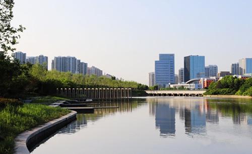 西海岸新区斥资13.5亿元打造21条生态景观河道  还原一片绿水青山