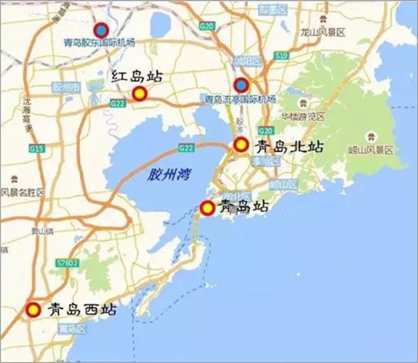青岛4大火车站格局将成,楼市跟着热起来
