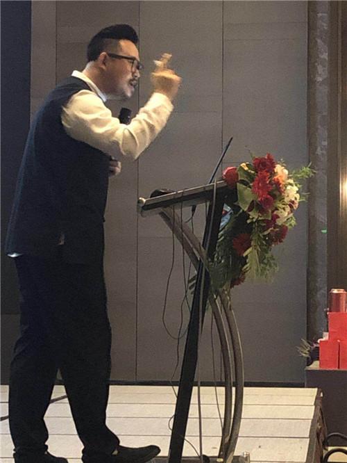 生茂老师受泰康之邀为vip客户做《宅人合一设计》风水讲座