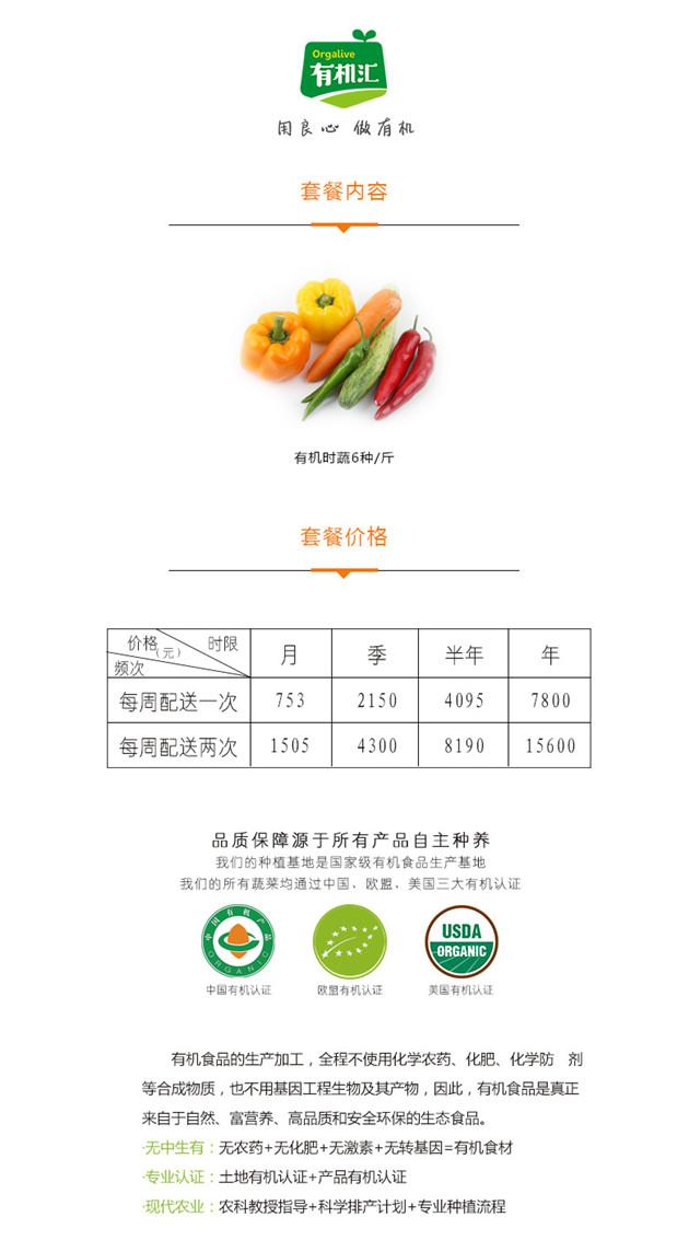 有机汇生态农场 为中国家庭提供安全食材