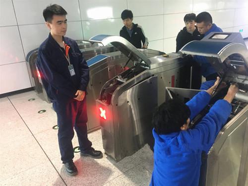 青岛地铁2号、3号和11号线闸机已全部改造完成  实现扫码过闸功能