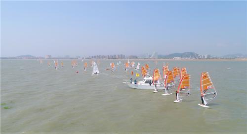 山东省省运会帆船比赛落下帷幕  青岛队包揽12枚金牌