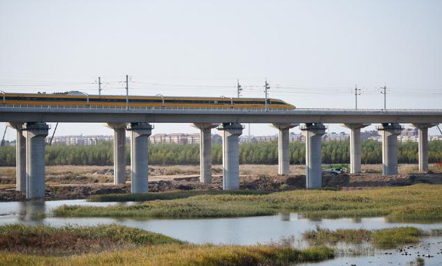 关键节点!济青高铁青岛段首次综合检测列车上线联调联试