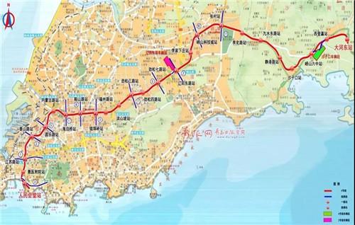 【青岛地铁】官方确认:青岛地铁1、4、8号线通车时间定了!