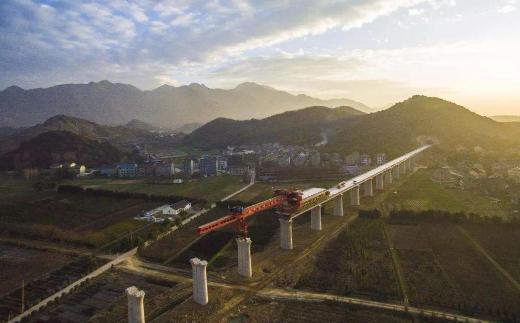 青连铁路联调联试正式启动 通车运营进入倒计时