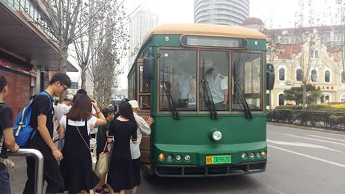 复古铛铛车G3线路明天始运营:自广西路火车站发往阅海府邸