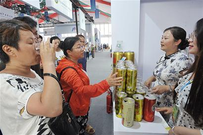 青岛国际啤酒节产品展交会火爆 意向成交额超4亿