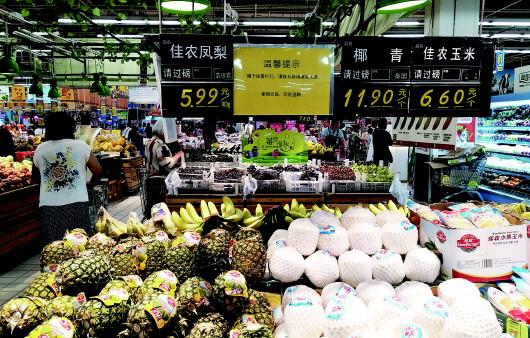 """青岛去年吃掉30万吨进口水果 """"洋水果""""几年销量井喷"""