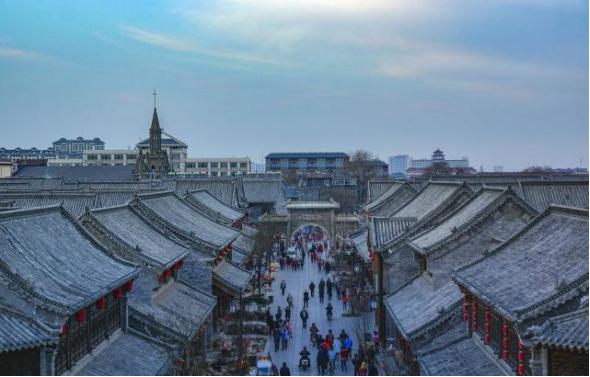 青州城:从西汉以来一直是历史王朝的名城重镇