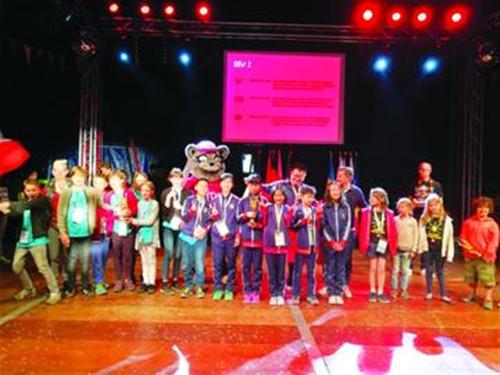 青岛市两所学校参加2018年头脑奥林匹克欧洲锦标赛双双获得冠军