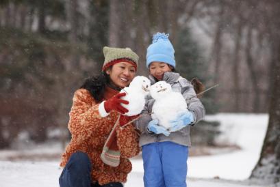 下雪了!父母可以和宝宝玩这些游戏