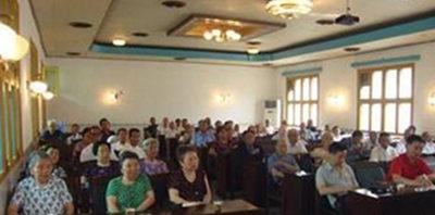 常德市:汉寿洲口老年协会开出幸福之花