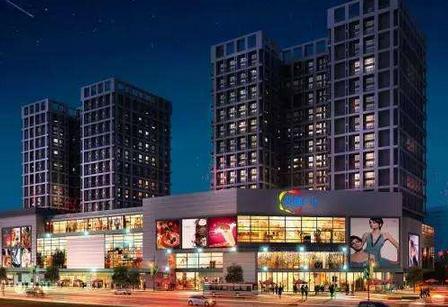 青岛金茂湾购物中心举行盛大的开业仪式 正式开业迎客