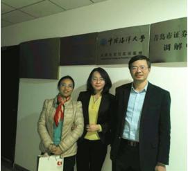 青岛市李沧区金融办到访青岛财富管理基金业协会,双方就如何促进产融结合进行交流