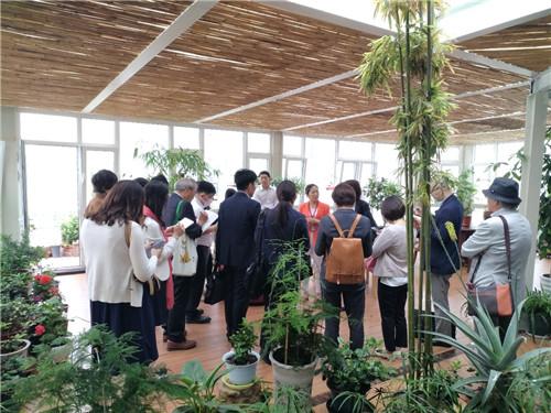 青岛市长期照护协会接待日本养老界考察团来访