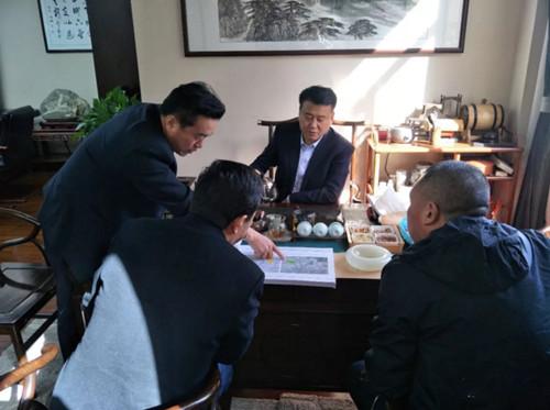 山东省黑龙江商会协助兄弟商会对接资源及会员单位对接项目