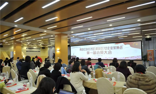 热烈祝贺青岛红岛经济区(高新区)女企业家协会成立!