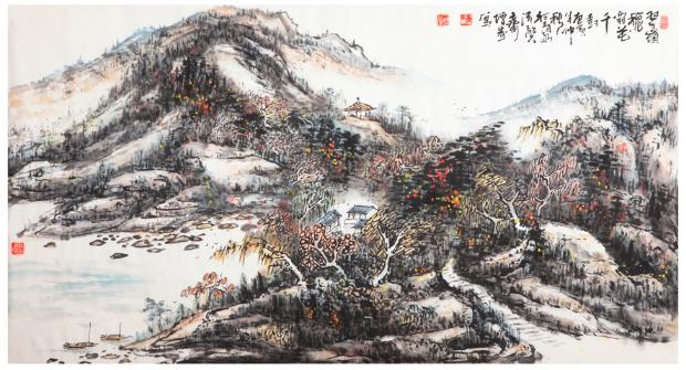 著名书画家李增寿大师:汲古铸今 博采众长