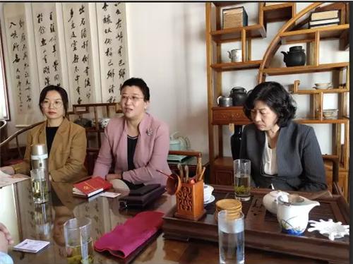 青岛市应急管理协会到访青岛市烟台商会进行工作交流