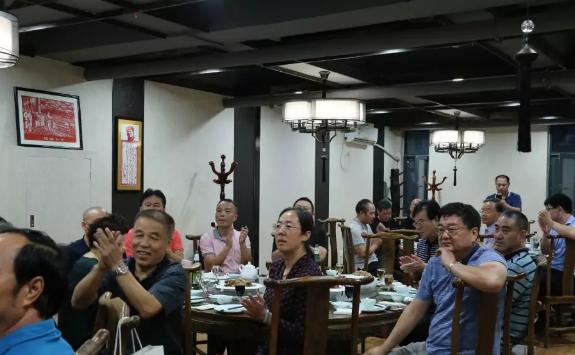 青岛市淄博商会举行中秋茶话会
