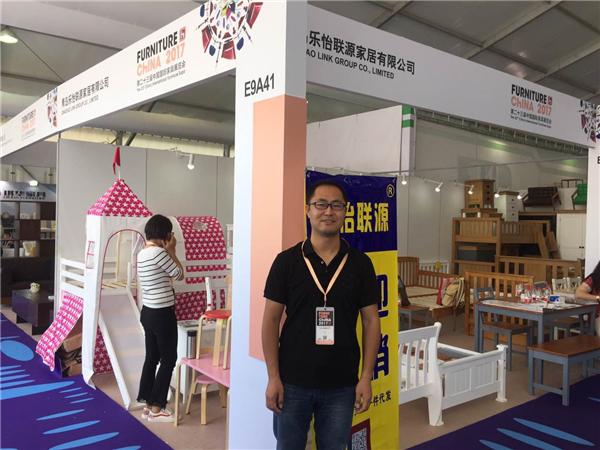 青岛乐怡联源家居有限公司亮相第二十三届中国国际家具展览会