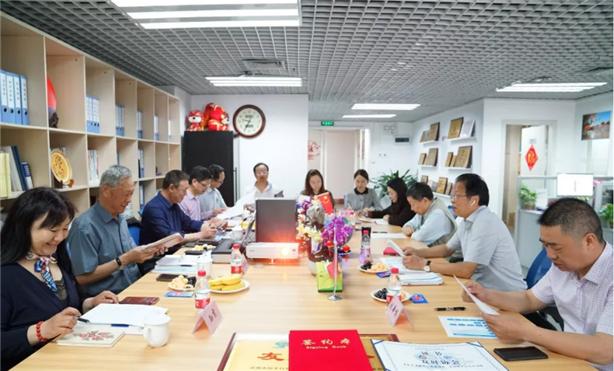 青岛防水协会来深圳调研考察交流